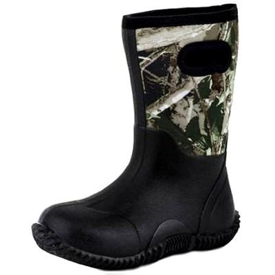 f269909de Roper Camo Neoprene Boy's Rubber Barn Boots