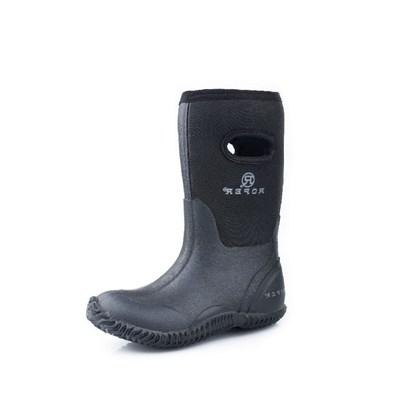 989e4d484 Roper Western Boy's Child Barn Buck Black Boots